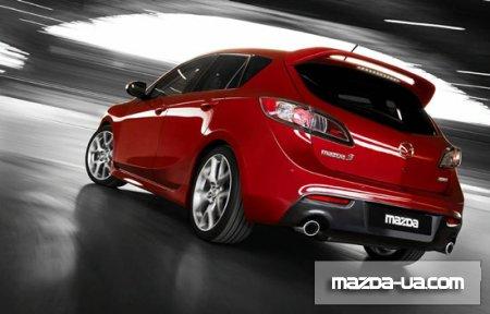 Новые Mazda 3 MPS и Mazda3 i-stop. Фото Mazda 3 MPS. тюнинг