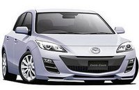Новая Mazda3 ждет грибного сезона